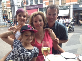 Andrea's 50th - Saskia, Issy, Andrea & Ave