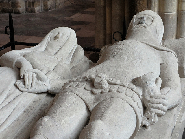 Arundel Tomb,  Chichester Cathedral - 14th century