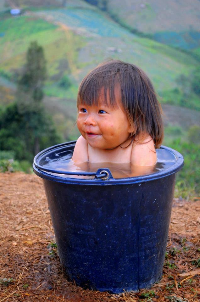 wash baby